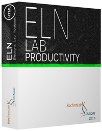 Electronic Lab Notebook software box